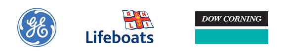 General Electric, RNLI Lifeboats and Dow Corning